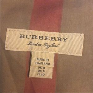 Burberry Dresses - New Burberry Dress!